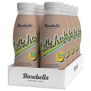 Barebells 8 X Barebells Milkshake, 330 Ml, Banana Split