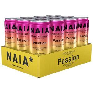 NAIA* 12 X Naia* Drink, 330 Ml, Passion