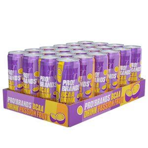 Pro Brands 24 X Pro Brands Bcaa Drink, 330 Ml, Passionfruit
