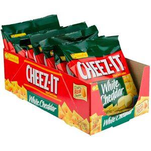 Cheez-It Crackers White Cheddar 6 poser En hel kartong med Cheez-It