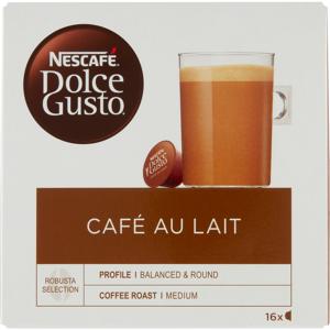 Nescafe Dolce Gusto Cafe Au Lait 16 stk Kaffekapsler