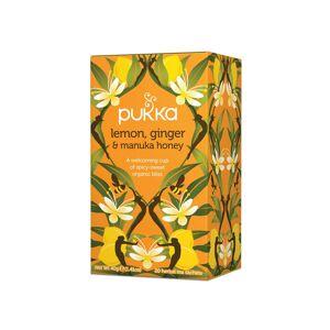 Pukka Te Lemon Ginger & Manuka Honey 20stk