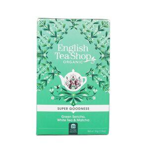 English Tea Shop Te Green Sencha, White Tea & Matcha 20stk