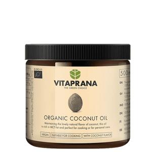 Vitaprana Flavor Free Organic Coconut Oil, 500 ml