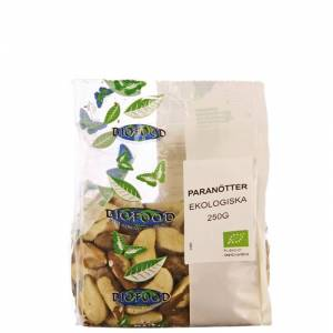 Biofood Paranøtter, 250 gram