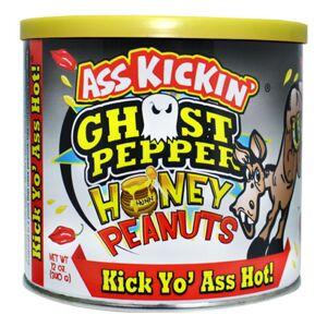 Gourmetpannan AB Ass Kickin Ghost Pepper Honungsjordnötter - 340 gram