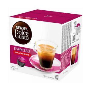Nescafé Dolce Gusto Kaffekapslar Nescafé Dolce Gusto 60658 Espresso Decaffeinato (16 uds)