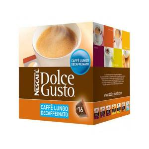 Nescafé Dolce Gusto Kaffekapslar Nescafé Dolce Gusto 94331 Caffè Lungo Decaffeinato (16 uds)