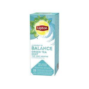 Te Lipton Green Tea Mint, påse, 25st