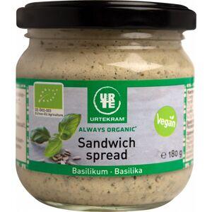 Urtekram Sandwich Spread Basilika EKO 180 g Smörgåspålägg