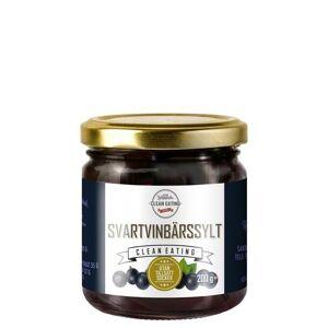 Clean Eating Svartvinbärssylt 200 g
