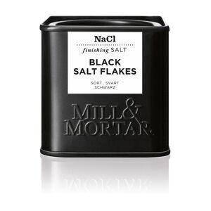 Mill & Mortar Svart Flage salt 80 g
