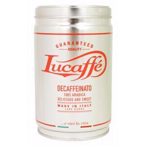 Lucaffé Decaffeinato koffeinfritt 250 g kaffebönor