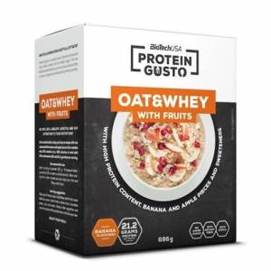 BioTechUSA Oat & Whey With Fruits, 696 g