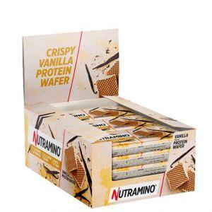 Nutramino 12 x Nutramino Nutra-GO Protein Wafer, 39 g Vanilla