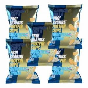 Pro Brands 5 x Pro Brands Protein Chips, 50 g