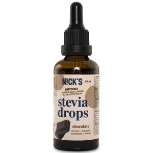 Nicks Stevia Drops Chocolate 50 ml