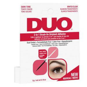 Ardell Duo 2-In-1 Brush-On Striplash Adhesive Clear And Dark 5 g
