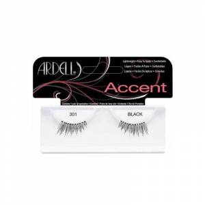 Ardell Accents False Lashes 301 Black 1 pair Irtoripset