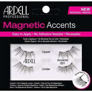 Ardell Magnetic Accents Lashes 001 Black 2 paria Irtoripset