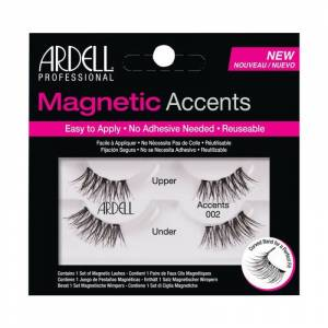 Ardell Magnetic Accents Lashes 002 Black 2 paria Irtoripset