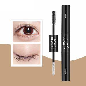 a409297e0fa Newchic Double Head 4D Mascara Silk Eyelash Lengthening Waterproof Black  Mascara Eye Makeup