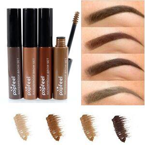 2092abcef73 Newchic Popfeel Eyebrow Enhancer Gel Waterproof Long Lasting Eye Makeup  Colored Brown Black Coffee 4 Colors