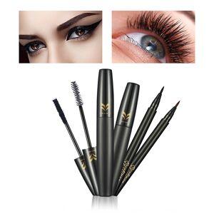 1b65d19cdc9 Newchic 3D Mascara Eyeliner Set Black Waterproof Mascara Long-Lasting  Eyeliner Pen Eye Makeup Cosmetic