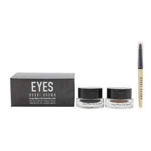 Bobbi Brown Long-Wear Gel Eyeliner Gift Set Black + Sepia + Applicator