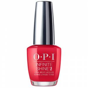 OPI Scotland Collection Infinite Shine Red Heads Ahead