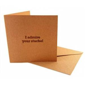 Beardshop Gift Card - I Admire Your Stache
