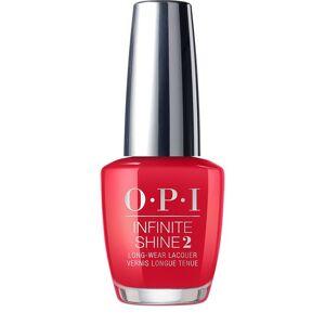Opi Infinite Shine Red Heads Ahead