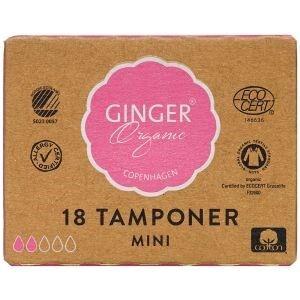 Gingerorganic tampon mini 18 stk