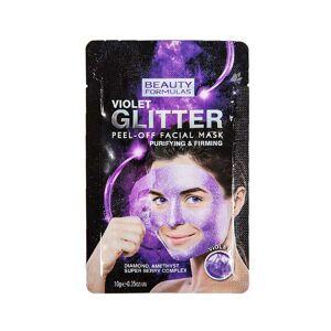 Violet Glitter Purifying Peel-Off Mask 10 g Ansigtsmaske