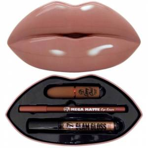 Kiss Kit Nude Attitude 3 stk Makeup Set