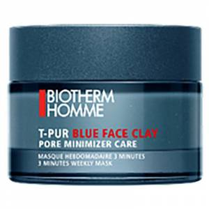 Biotherm Homme T-Pur Blue Face Clay Mask (50ml)