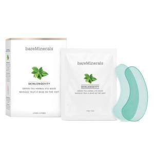 bareMinerals Skinlongevity Green Tea Herbal Eye Mask (6pcs)