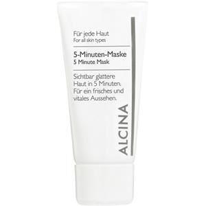 Alcina Kosmetiikka Kaikki ihotyypit 5-minuutin naamio 50 ml