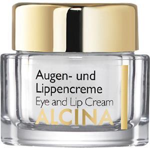 Alcina Kosmetiikka Teho ja hoito Silmä- ja huulivoide 15 ml