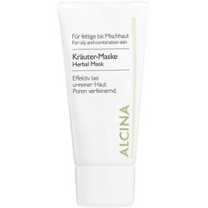 Alcina Kosmetiikka Rasvainen ja sekaiho Yrttinaamio 50 ml