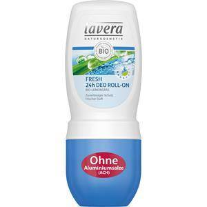 Lavera Basis Sensitiv Vartalonhoito Fresh 24h Deodorant Roll-On 50 ml