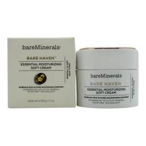 bareMinerals Bare Haven Essential Moisturizing Soft Cream 50ml - For Normal Og Tørr Hud