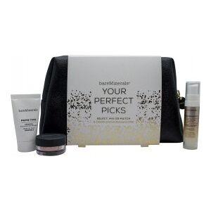 bareMinerals Your Perfect Picks Gavesett 15ml Primer + 0.75g Finishing Powder + 25ml Face Serum + Makeup Bag