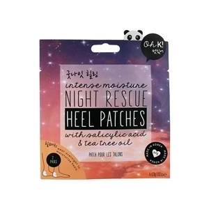 Oh K! Night Rescue Heel Patches 4 stk/pakke