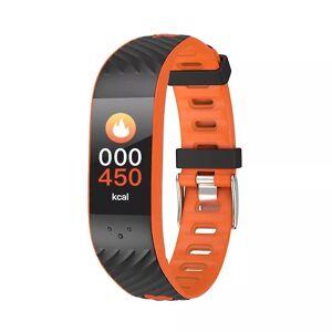 eStore P4 aktivitet armbånd med blodtrykk og hjertefrekvensmåler-Orange