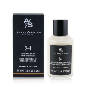 ART The Art of Shaving 2 i 1 etter barbering balsam og daglig fuktighetskrem olibanum + pepper 249198 100ml/3.3oz