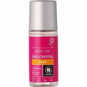 Urtekram Rose Deokrystal Roll-On 50 ml Deodorant