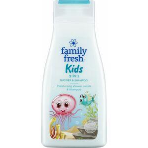 Family Fresh Kids Shower & Shampoo 500 ml Barnesjampo