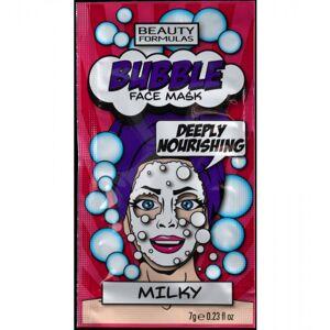 Beauty Formulas Bubble Milky Face Mask 7 g Ansiktsmaske