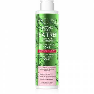 Eveline Botanic Expert Tea Tree Purifying & Mattifying Antibacterial Tonic 225 ml Skintonic